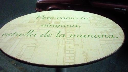 Mesa pregón Rodríguez Buzón