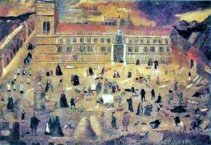 """La gran peste de Sevilla""  (anónimo)"